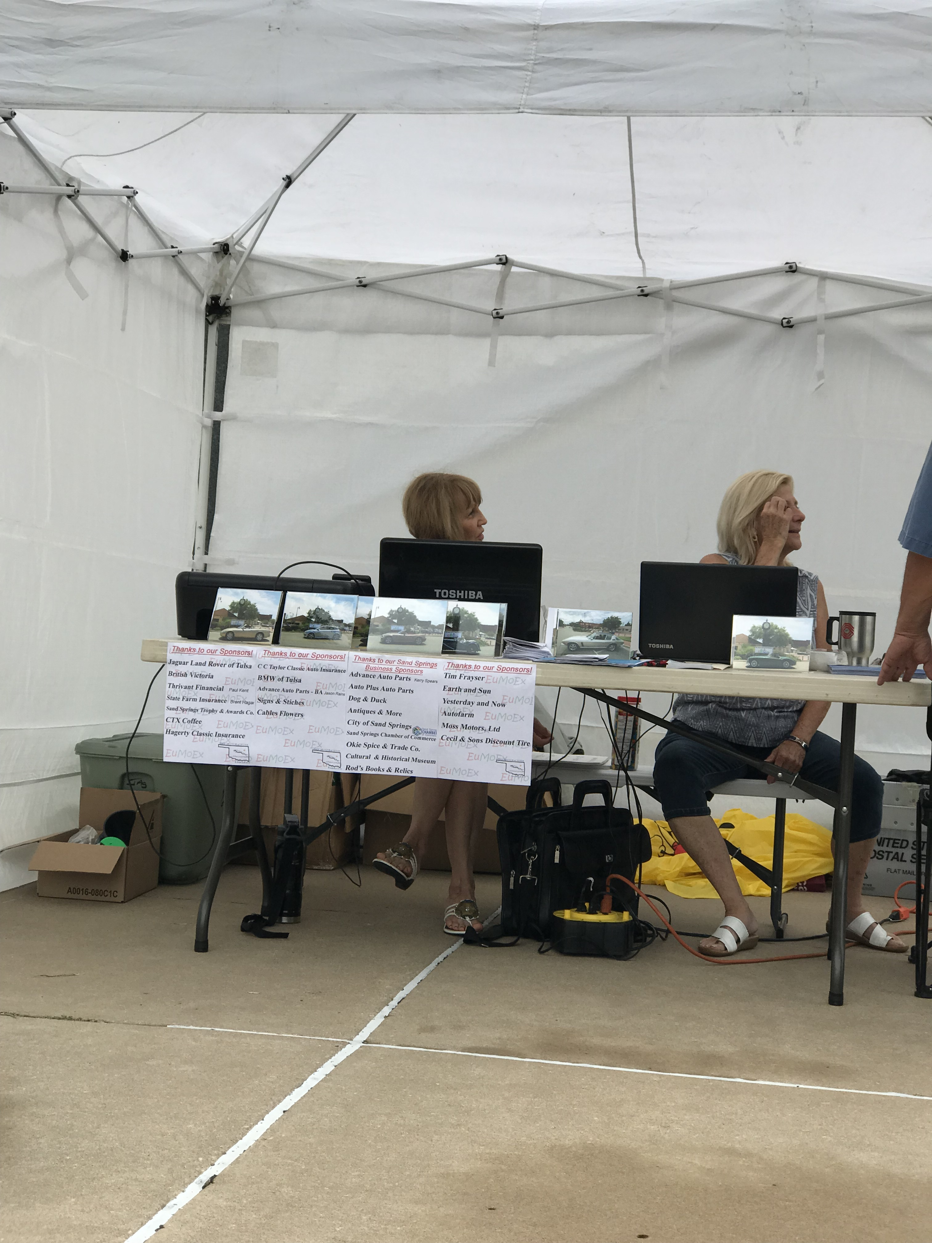 Registration at Show
